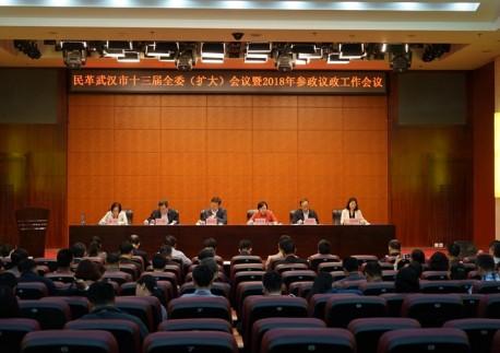 民革武汉市委会召开十三届三次全委(扩大)会议暨2018年参政议政工作会议