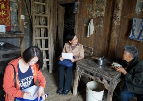 市民革、市致公党赴蔡甸区贫困村开展入户问卷调研