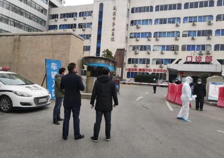 市民革主委彭富春对中百仓储、市五医院及白鹤社区进行暗访调查