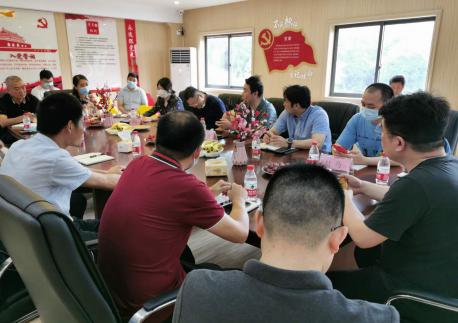 市民革调研青山民革党员企业复工复产情况