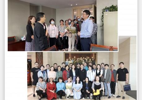 市民革宣传思想工作骨干培训班一行到上海民革交流座谈