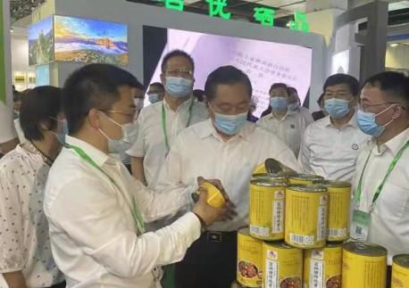 市政协副主席、市民革主委彭富春出席第六届硒博会